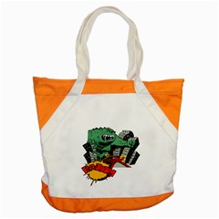 Monster Accent Tote Bag