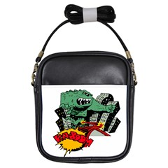 Monster Girls Sling Bags