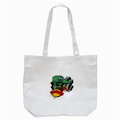 Monster Tote Bag (white)