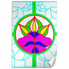 Pattern Template Stained Glass Canvas 24  X 36