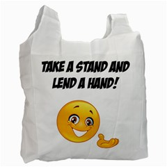 Take A Stand! Recycle Bag (two Side)  by athenastemple