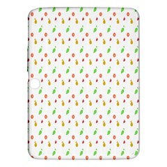 Fruit Pattern Vector Background Samsung Galaxy Tab 3 (10 1 ) P5200 Hardshell Case  by Nexatart