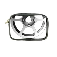 Car Wheel Chrome Rim Coin Purse
