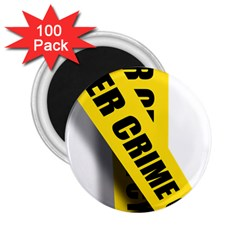 Internet Crime Cyber Criminal 2 25  Magnets (100 Pack)