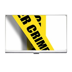 Internet Crime Cyber Criminal Business Card Holders