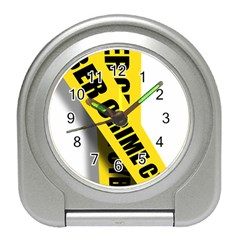 Internet Crime Cyber Criminal Travel Alarm Clocks