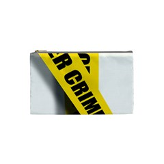 Internet Crime Cyber Criminal Cosmetic Bag (small)