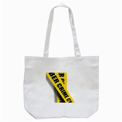 Internet Crime Cyber Criminal Tote Bag (white) by Nexatart