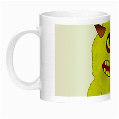 Monster Troll Halloween Shudder Night Luminous Mugs by Nexatart