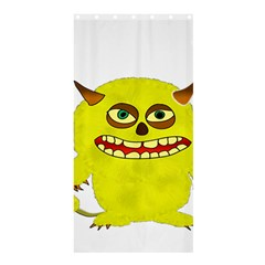 Monster Troll Halloween Shudder Shower Curtain 36  X 72  (stall)  by Nexatart