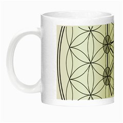 Tree Of Life Flower Of Life Stage Night Luminous Mugs by Nexatart
