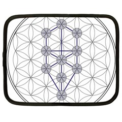 Tree Of Life Flower Of Life Stage Netbook Case (xxl)