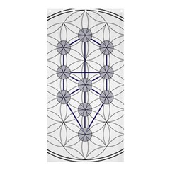 Tree Of Life Flower Of Life Stage Shower Curtain 36  X 72  (stall)  by Nexatart