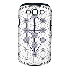 Tree Of Life Flower Of Life Stage Samsung Galaxy S Iii Classic Hardshell Case (pc+silicone) by Nexatart