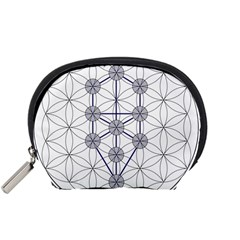 Tree Of Life Flower Of Life Stage Accessory Pouches (small)