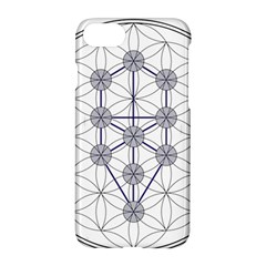 Tree Of Life Flower Of Life Stage Apple Iphone 7 Hardshell Case
