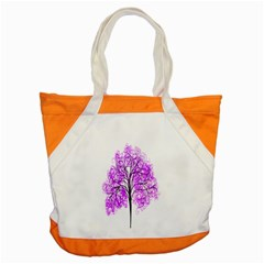Purple Tree Accent Tote Bag