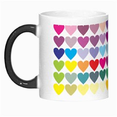 Heart Love Color Colorful Morph Mugs