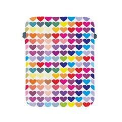 Heart Love Color Colorful Apple Ipad 2/3/4 Protective Soft Cases by Nexatart
