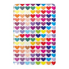 Heart Love Color Colorful Samsung Galaxy Tab Pro 10 1 Hardshell Case by Nexatart