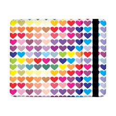 Heart Love Color Colorful Samsung Galaxy Tab Pro 8 4  Flip Case by Nexatart
