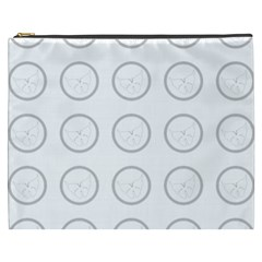 Butterfly Wallpaper Background Cosmetic Bag (xxxl)