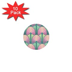 Seamless Pattern Seamless Design 1  Mini Buttons (10 Pack)