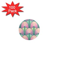 Seamless Pattern Seamless Design 1  Mini Magnets (100 Pack)