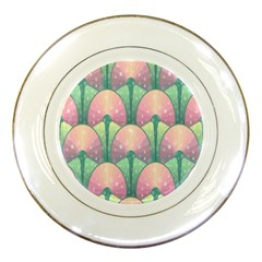 Seamless Pattern Seamless Design Porcelain Plates