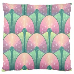 Seamless Pattern Seamless Design Large Cushion Case (two Sides) by Nexatart