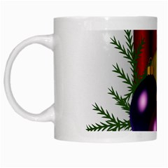 Candles Christmas Tree Decorations White Mugs by Nexatart