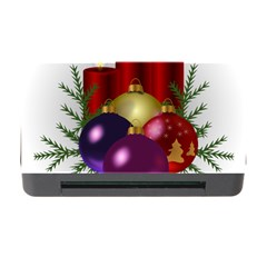 Candles Christmas Tree Decorations Memory Card Reader With Cf by Nexatart