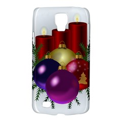 Candles Christmas Tree Decorations Galaxy S4 Active by Nexatart