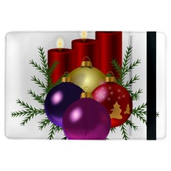 Candles Christmas Tree Decorations Ipad Air Flip by Nexatart