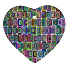 Psychedelic 70 S 1970 S Abstract Ornament (heart) by Nexatart