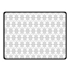 Ornamental Decorative Floral Fleece Blanket (small) by Nexatart