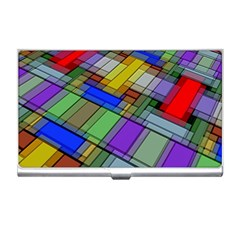 Abstract Background Pattern Business Card Holders
