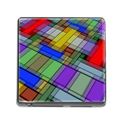 Abstract Background Pattern Memory Card Reader (square) by Nexatart