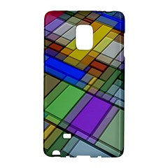 Abstract Background Pattern Galaxy Note Edge by Nexatart