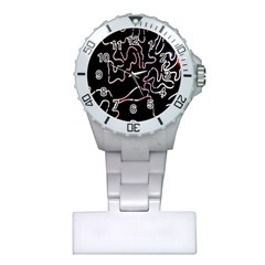 Abstract Glare Visual Art Plastic Nurses Watch