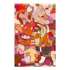 Abstract Abstraction Pattern Modern Shower Curtain 48  X 72  (small)