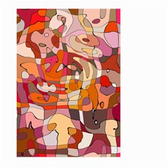 Abstract Abstraction Pattern Modern Large Garden Flag (two Sides)
