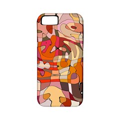 Abstract Abstraction Pattern Modern Apple Iphone 5 Classic Hardshell Case (pc+silicone)