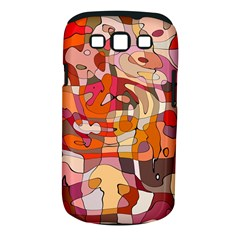 Abstract Abstraction Pattern Modern Samsung Galaxy S Iii Classic Hardshell Case (pc+silicone)
