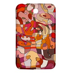 Abstract Abstraction Pattern Modern Samsung Galaxy Tab 3 (7 ) P3200 Hardshell Case