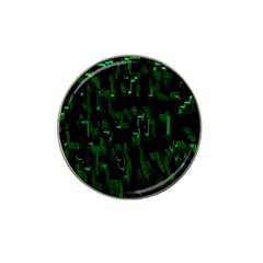 Abstract Art Background Green Hat Clip Ball Marker (4 Pack)
