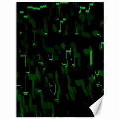 Abstract Art Background Green Canvas 36  X 48