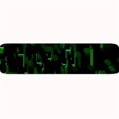Abstract Art Background Green Large Bar Mats