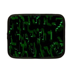Abstract Art Background Green Netbook Case (small)
