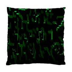 Abstract Art Background Green Standard Cushion Case (two Sides)